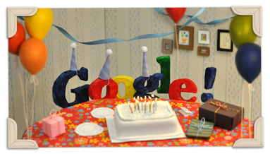 Happy Birthday Google (: